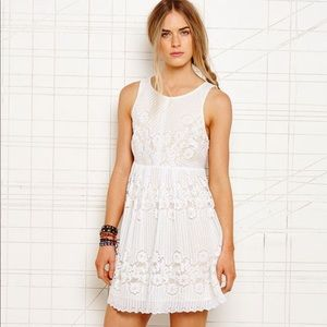 Free People Rocco Lace Mini Dress